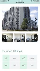 2 bedrooms apartment for rent. Available from 1st March.
