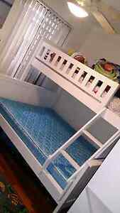 Double bunk bed white wood SOLD PENDING PICKUP Bateman Melville Area Preview