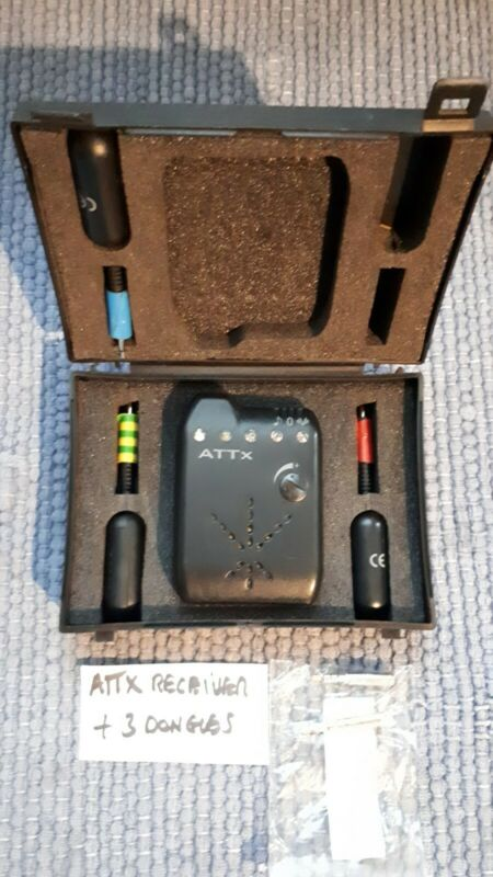 ATTX V2 Receiver multi colour leds + CASE & 3x 3.5 mm Dongles 2x jack converters