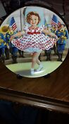 Shirley Temple Stand Up and Cheer Plate