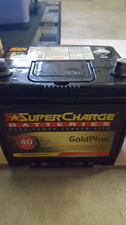 Near new battery