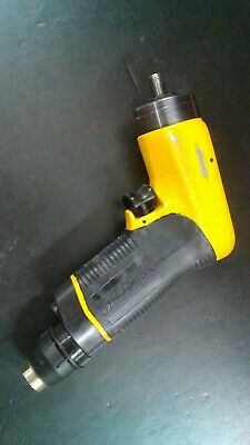 Atlas Copco Air Drill 38 Lbb34 H026-u Pistol Grip 2600 Rpm No Chuck