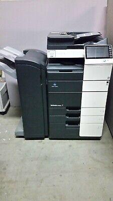 Konica Minolta Bizhub C454e Color Copier Printer Scanner With Finisher