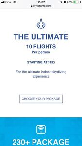 I Fly indoor skydiving tickets