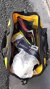 Bricklaying bag & tools. Near new condition! Bellbird Park Ipswich City Preview
