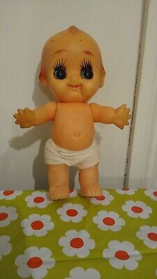 Vintage Large Cute sweet Cupie Doll In Underwear With Starfish Hands