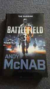 The Russian battlefield 3 Andy McNab and Peter grimsdale book Para Vista Salisbury Area Preview