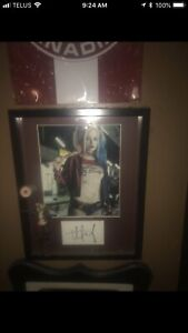 Harley Quinn 1/4 scale and picture with signed card