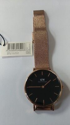Daniel Wellington Classic Petite Melrose Ladies Watch DW00100161 Rose Gold
