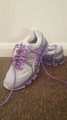 Asics Gel Excel 33 running trainers 6UK or 40EU Great condition grey and purple