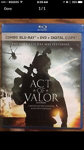 Act of Valor Blue Ray London Ontario image 1