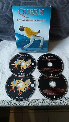 Queen : Live At Wembley Stadium Complete Concert / DVD SEALED