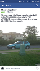 Swap for automatic Muswellbrook Muswellbrook Area Preview