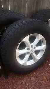 Nissan Navara D40 Rims and Tyres Fyshwick South Canberra Preview