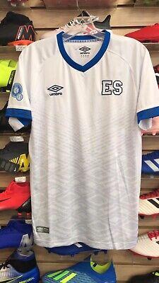 2d29bfce7 Umbro El Salvador 2019 Soccer Jersey camisa De Futbol De El Salvador2019  Size XL