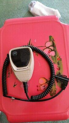 Motorola Standard Palm 2 Way Radio Microphone Hmn1080a 6 Pin For Astro Specctra