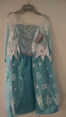 On  Sale Authantic Elsa Costume and Elsa Wig   from Disney Frozen - Costume On Sale