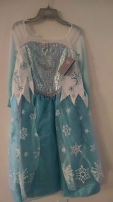 On  Sale Authantic Elsa Costume and Elsa Wig   from Disney - Elsa From Frozen Costume