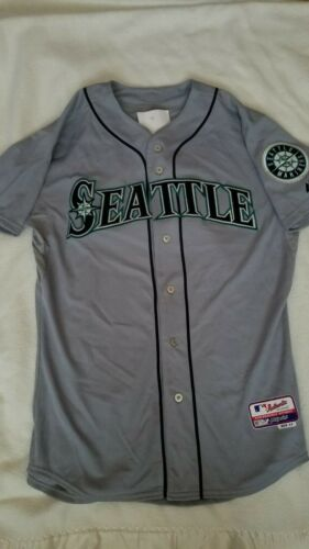 2015 Steven Baron Seattle Mariners Game Used Worn Jersey Mlb Hologram