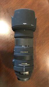 Sigma DG 50-500mm 4.5-6.3 APO OS HSM for Canon