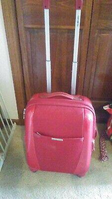 """SAMSONITE SPINNER Expandable 25"""" Four Wheel Spinner Luggage Bright Red TSA Lock"""