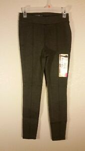 New GRAY Womens XXL 20 Quality Ponte Leggings Soft stretch Fabric Faded Glory