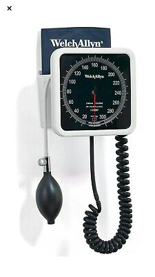 Welch Allyn 767 Series Wall Blood Pressure Gauge 7670-01 W New Open Box