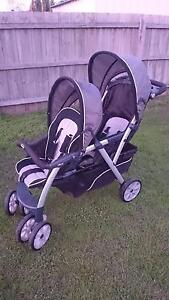 CHICCO TANDEM STROLLER (DOUBLE PRAM) - CORTINA TOGETHER Hoppers Crossing Wyndham Area Preview