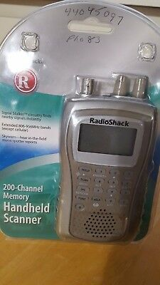 Radio Shack Pro 83 Portable Handheld Scanner