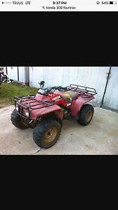 Looking for project Honda 300 fourtrax