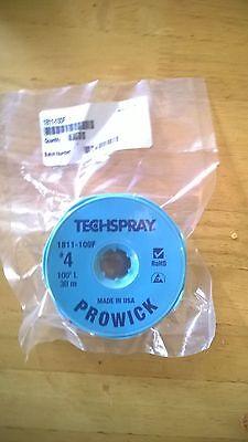 TechSpray desolder braid (solder wick) - 30m x 2.5mm