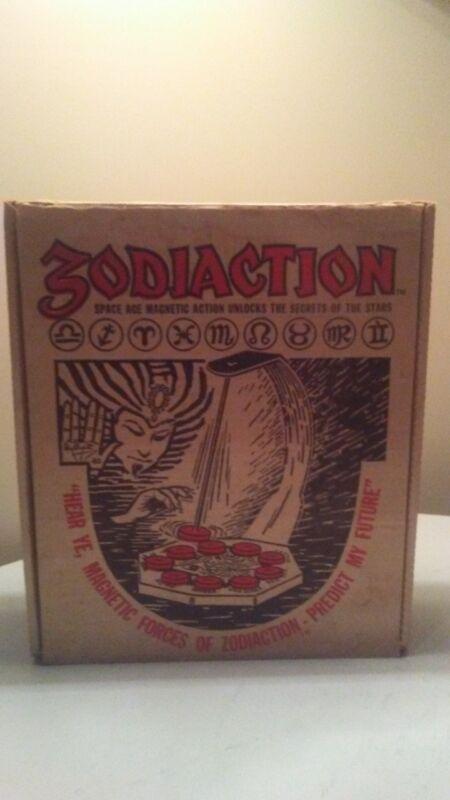 ZODIACTION 1969 VINTAGE BOARD GAME OUIJA