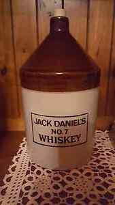 Jack Daniels ceramic decanter/bottle Sorrento Joondalup Area Preview