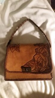 Tooled Vintage Leather Handbag  Colonel Light Gardens Mitcham Area Preview
