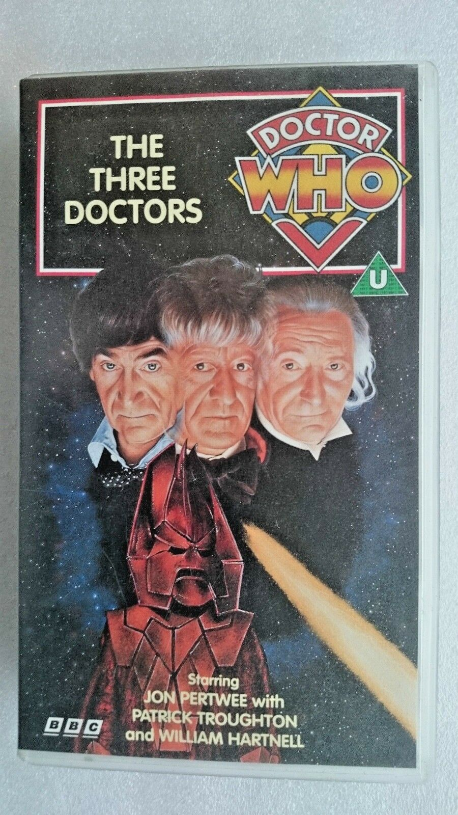 Doctor Who - The Three Doctors (VHS, 1991) - Jon Pertwee