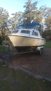 Fibreglass boat and yamaha outboard Kempsey Kempsey Area Preview