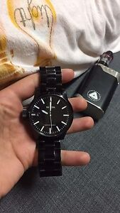 Black Nixon watch for sale