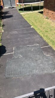 Ford rubber Ute mat