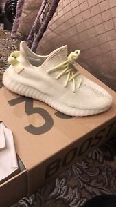 Yeezy 350 V2 Butter DS - Size 9.5