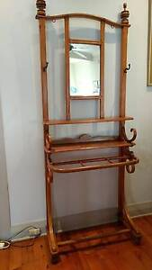 Vintage hall stand with mirror Rose Bay Eastern Suburbs Preview