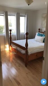Pine Double Bed Set