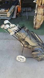 Prosimon bag and golf clubs Angle Park Port Adelaide Area Preview
