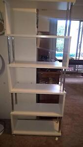 Eco white bookcase X2 Dulwich Hill Marrickville Area Preview