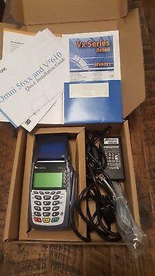 Verifone Vx610 Credit Card Swiper Machine Original Manualscordsbattery