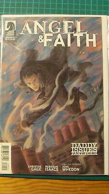 Angel & Faith Season 9 Dark Horse Comic Issue 9 Daddy Issues
