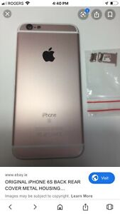 Rose gold 64 gig iPhone 6s trade or $150