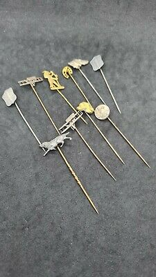 Antique Military Tie Pin Lot 09634