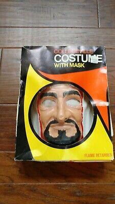 Vintage Collegeville Sheik Halloween Mask and Costum with Box
