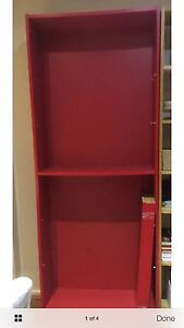 IKEA Billy Bookcase Red Oatley Hurstville Area Preview