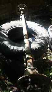 Land Rover ex military trailer axle and 3 rims Lenah Valley Hobart City Preview